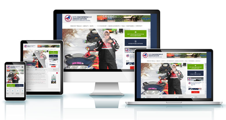 NYS Snowmobile Association website example