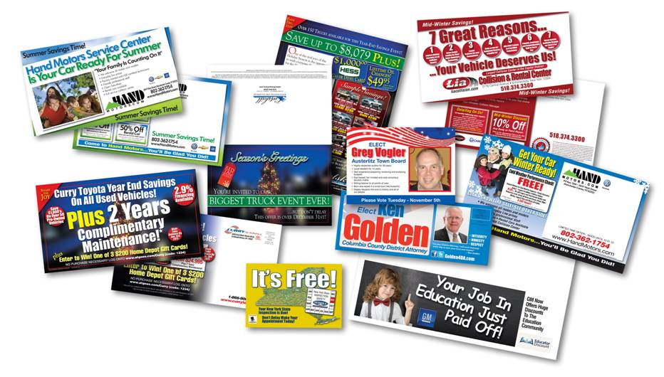 Paradox Consulting direct mail display