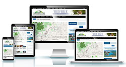 Example of our websites, for Adirondack Local Government Review Board